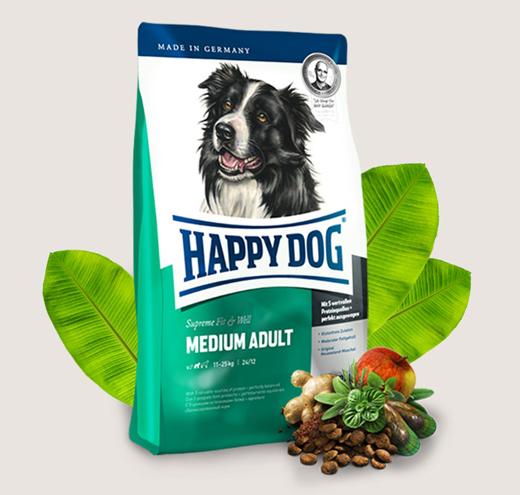 Храна за кучета Happy Dog Adult Medium