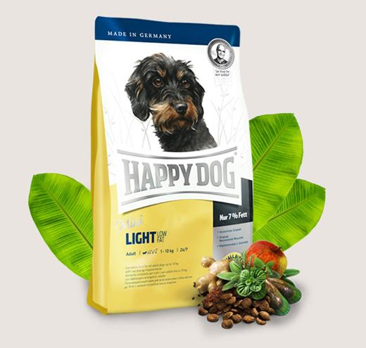 Happy Dog Mini Light - храна за кучета с с намалено количество мазнини 6,5%