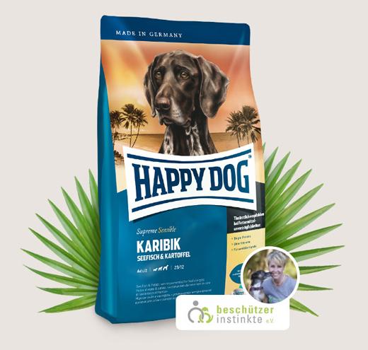 Храна за чувствителни кучета Happy Dog Супер Премиум Карибик