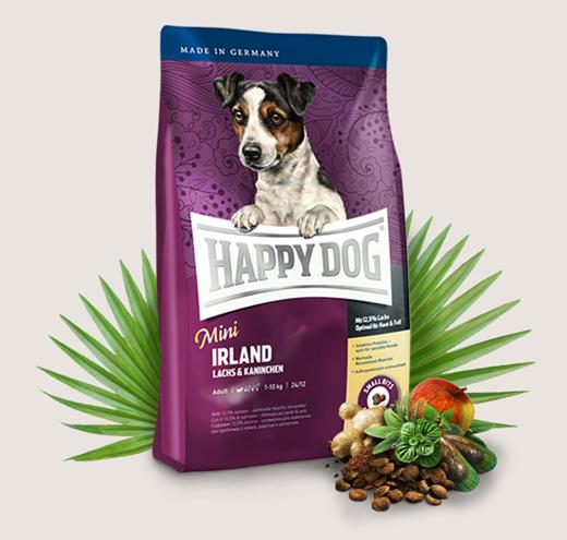 Храна за чувствителни кучета Happy Dog Мини Ирландия