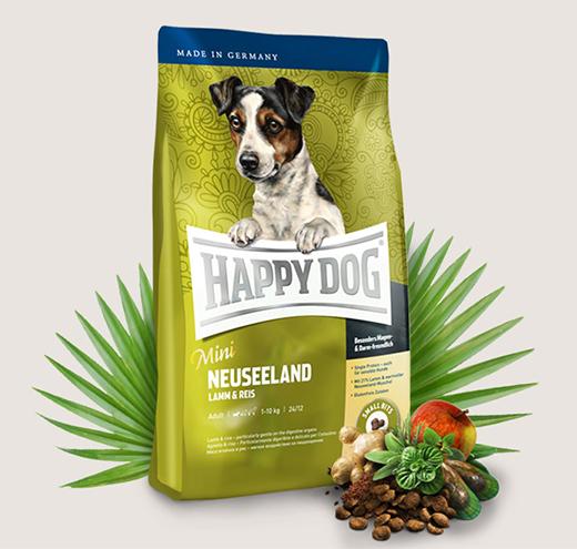 Храна за чувствителни кучета Happy Dog Мини Нова Зеландия