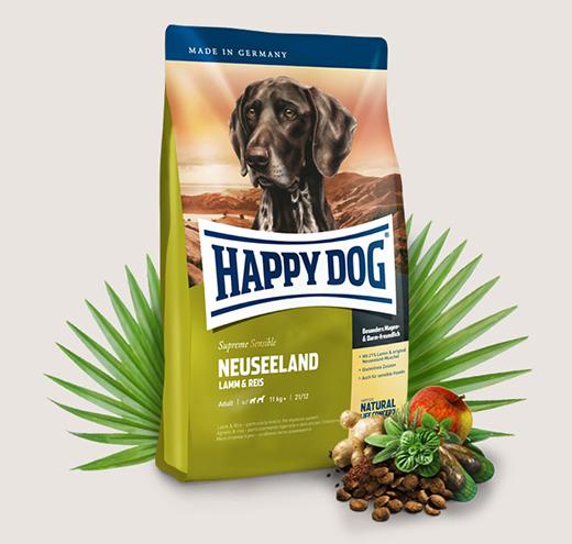 Храна за чувствителни кучета Happy Dog Супер Премиум Нова Зеландия