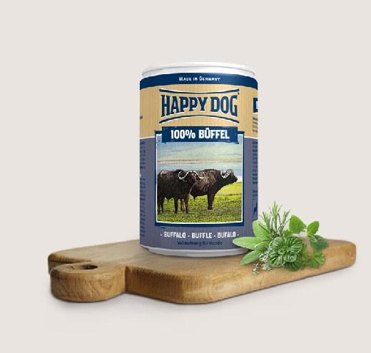 Happy Dog-Консерви за кучета със 100% биволско