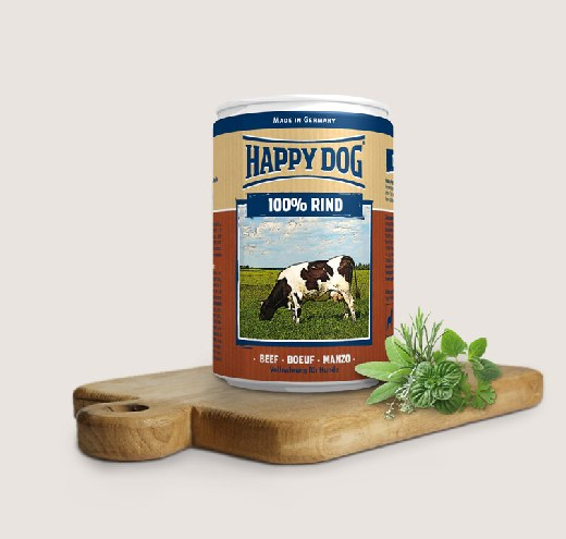 Зърнени храни за кучета и консерви за кучета
