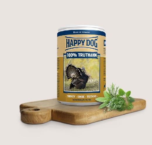 Happy Dog-Консерва с пуешко месо