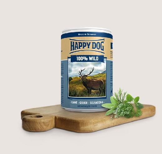 HappyDog-Консерва с еленско месо