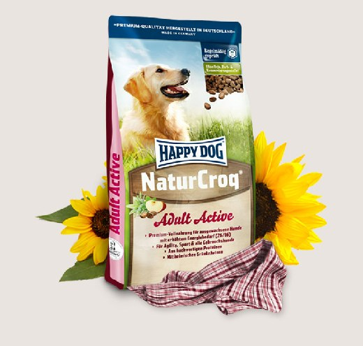 Премиум храна за кучета Happy Dog – Nature Croq Active