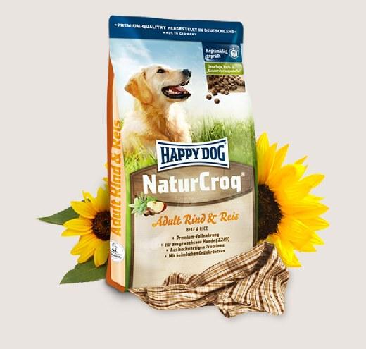 Премиум храна за кучета – Natur Croq Rind & Reis