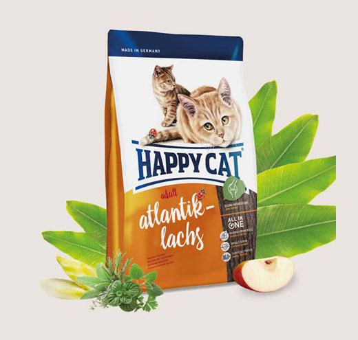 Храна за котки Happy Cat Ѕupreme – Адълт-Атлантическа сьомга