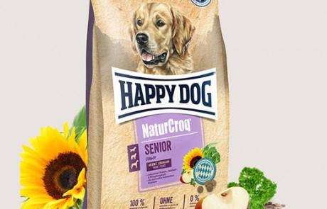 Премиум храна за възрастни кучета Happy Dog Natur Croq Senior