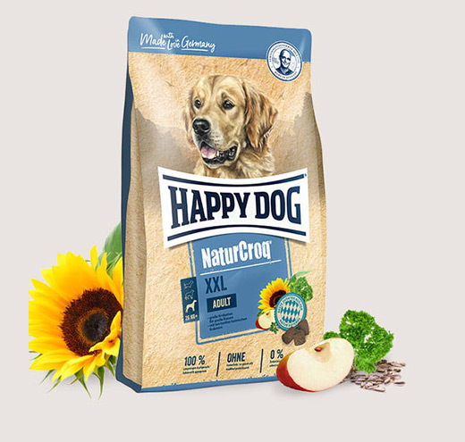 Премиум храна за пораснали кучета от големи породи Happy Dog Natur Croq XXL