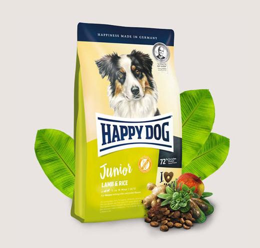 Храна за кучета HappyDog Джуниър Агнешко с ориз