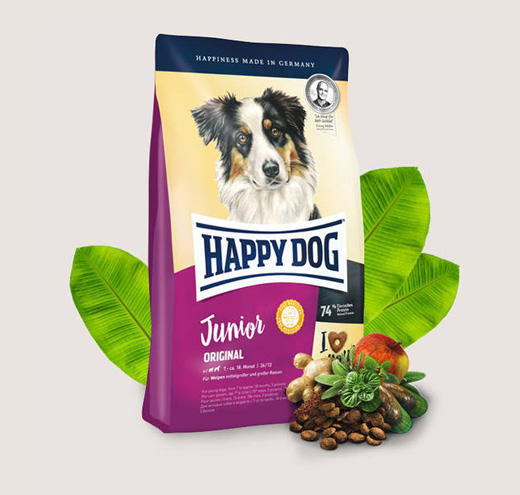 Храна за кучета HappyDog Джуниър Оригинал