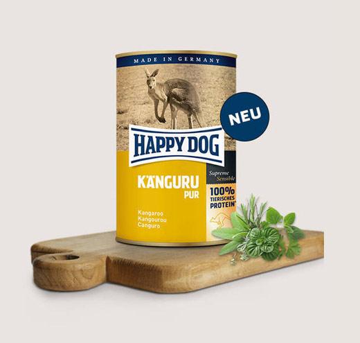 Храна за кучета Happy Dog Консерва месо от кенгуру 100%
