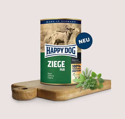 Храна за кучета Happy Dog Консерва месо от коза 100%