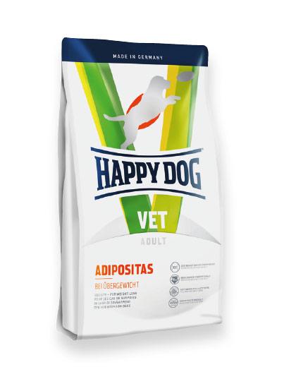 HAPPY DOG ВЕТЕРИНАРНИ ДИЕТИ – ADIPOSITAS – ПРИ ЗАТЛЪСТЯВАНЕ