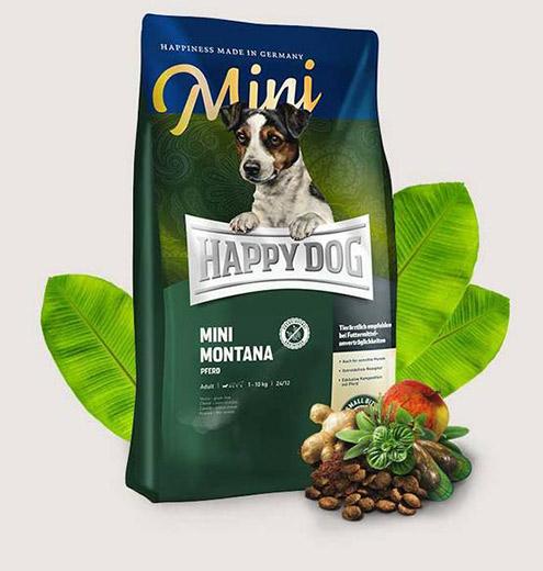ХРАНА ЗА КУЧЕТА HAPPY DOG MINI MONTANA