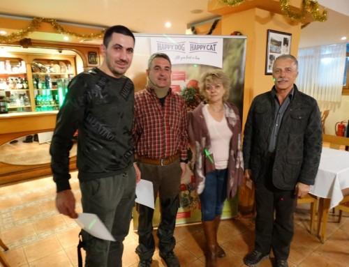 Състезание от турнира Св.Хуберт в памет на Атанас Василев – Найк