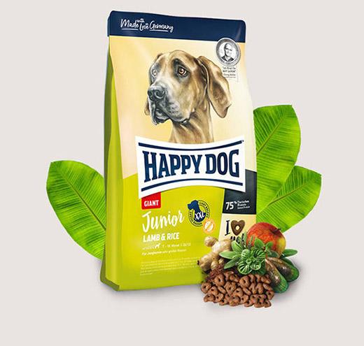 Happy dog Junior Giant Lamb & Rice